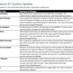 Требования для установки Windows 8.1
