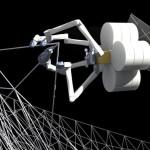 NASA разрабатывает роботов для 3D-печати огромных конструкций на орбите Земли
