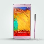 Samsung Galaxy Note 3 в розовом для Великобритании