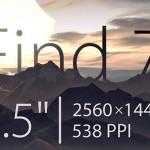 Oppo Find 7 получит 5,5-дюймовый экран с разрешением 1440х2560 точек
