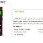 Nokia Normandy «засветился» на сайте крупнейшего интернет-магазина во Вьетнаме