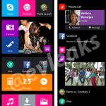 Скриншоты пользовательского интерфейса Nokia Normandy