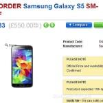 Samsung Galaxy S5 доступен для предзаказа в Великобритании
